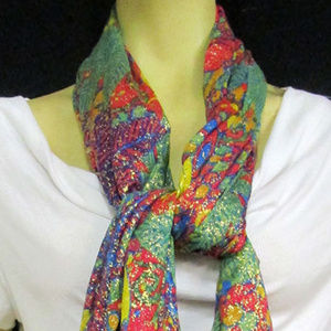 Patricia Nash Women's Scarf Multi Color One Size